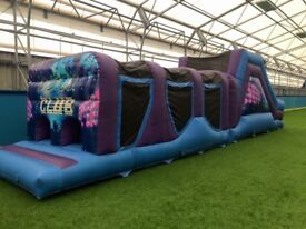 45ft Obstacle Course Bouncy Castle