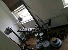 Gym set up