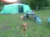 Freedom trail eskdale 8 man tent - used but good condition