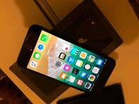 iPhone 8 space grey 64GB nearly new. Unlocked with any network