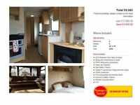 CHEAP STATIC CARAVAN FOR SALE NEAR NEWCASTLE, LOW SITE FEES, LOW DEPOSIT AND MONTHLY PAYMENTS