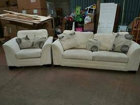 3 seater sofa bed and chair