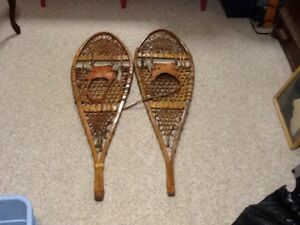 Back Pack Snowshoes - Authentic