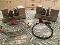 2 Matched Quad II Valve Amplifiers