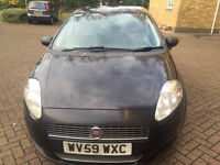 59 plate fiat grand punto MK1 Facelift 1.4 Active Dualogic 5dr, SEMI AUTOMATIC GEARBOX,
