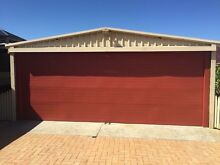 Double garage Padbury Joondalup Area Preview