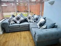 FLAT 49% SALE OFFER SHAFINA CHESTERFIELD CORNER/3+2 SEATER SOFA SET AVAILABLE