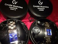Brand new Ladies and Gents watch set only £75.00 for both