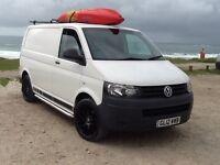 Volkswagen Transporter 2012 White T28 Swb Day Surf Van No Vat