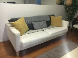Stylish white couch Tempe Marrickville Area Preview