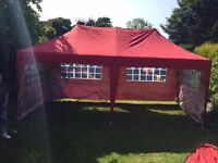 6x3 mtrs pop up gazebo