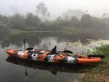 The Dragon Hunter 4m Fishing Kayak // Single Seater with Rudder Bethania Logan Area Preview