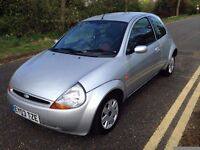 2003 reg ford ka 1.2 petrol cheap run about year mot on it, drive perfect,