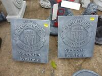 Liverpool and Man Utd ornaments chelsea arsenal celtic rangers