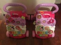 2 v tech baby walkers