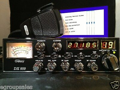 Galaxy DX959 CB Radio - Performance Tuned + Receive Enhanced
