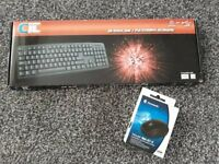 Keyboard and Mouse - Brand New in Box