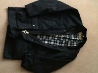 Men's Game Wax Jacket, size Medium.