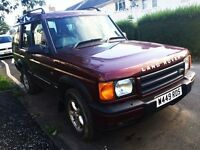 Landrover Discovery Td5 (ruby red)
