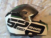 Shark motorbike helmet - Size m - excellent condition