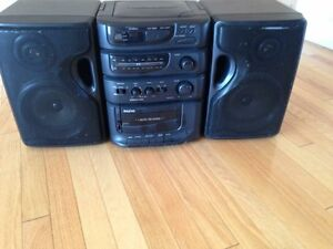 Radio , cassette and CD player