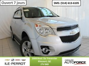 2012 CHEVROLET Equinox FWD LT, BLUETOOTH, CAMERA RECUL,