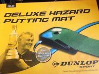 Dunlop Golf indoor Putting mat - deluxe hazard putting mat