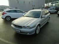 Jaguar X type 2lt diesel 1year mot