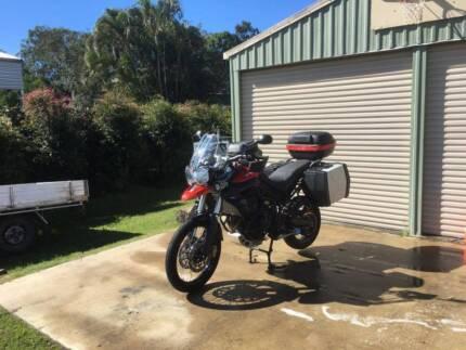 Triumph Tiger 800 XC Motorbike