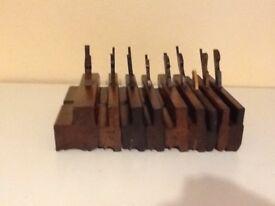 Antique Carpentry Moulding Planes