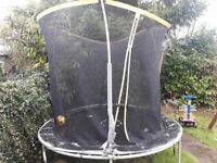 8f trampoline with safety net