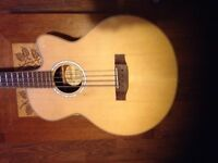 Tanglewood acoustic bass guitar