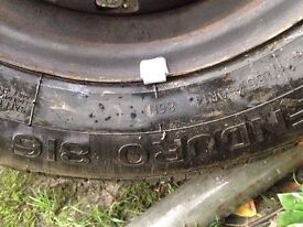 4 x Car tyres 185 65r14 £100