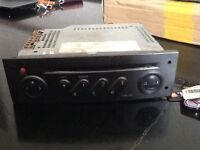 Renault megane stereo cd player with code
