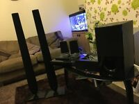lg surround sound system with dvd player in excelent working order