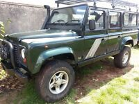 defender 110 wagon massive amount of extras added