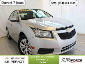 2012 CHEVROLET CRUZE LT, TURBO, CRUISE CONTROL