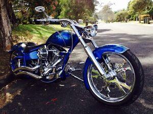 Harley Davidson Custom Pro One Dominator Chopper Swap Macquarie Links Campbelltown Area Preview