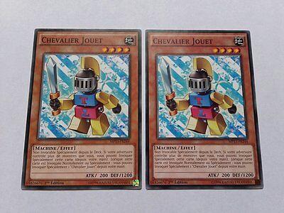 Lot 2 Cartes Yu Gi Oh Chevalier Jouet MP15-FR244