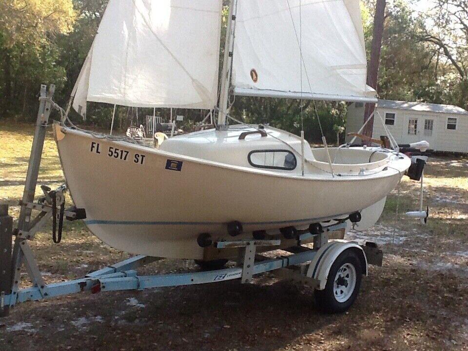 1978 nordicia 16 foot sailboat