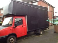 spare repair luton box van for sale or swap moped motorbike etc