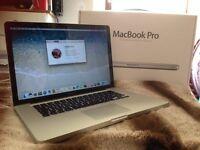 """Macbook Pro 15"""" Mid 2012 8GB RAM 256GB SSD I7 Processor"""