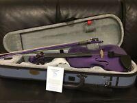 Stentor Harlequin Purple Violin (half size)