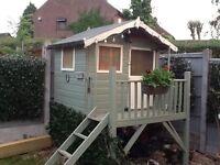 Children's outdoor playhouse - NOW GONE