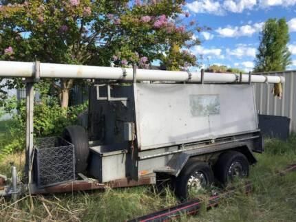 Trade trailer