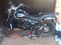 Lexmoto 125cc ZSB Motorbike
