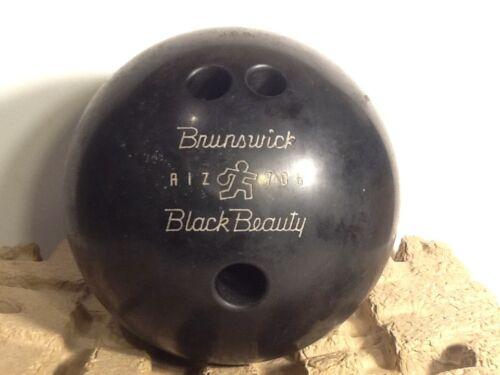 Vintage Bowling Ball Vintage Brunswick Black Beauty Bowling Ball