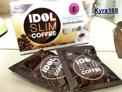 1xIDOL Coffee Slim Drink Instant Diet Weight Loss Burnt Resistance Low Fat