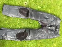 Belstaff leather trousers for sale