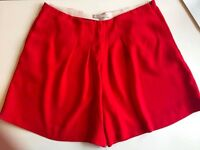 Red high waisted short Maje